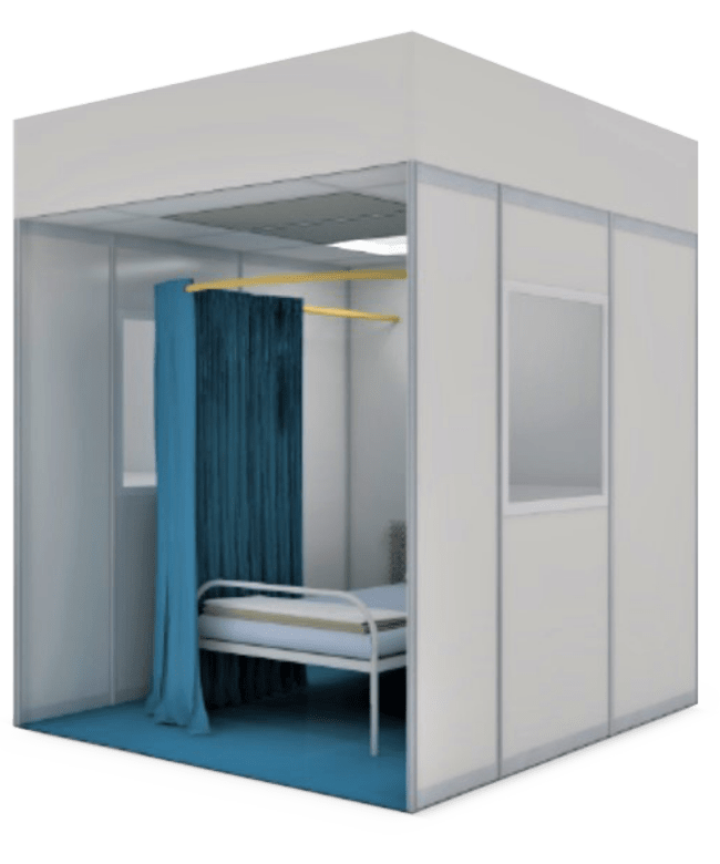 Makeshift Recovery and Treatment Isolation Room™