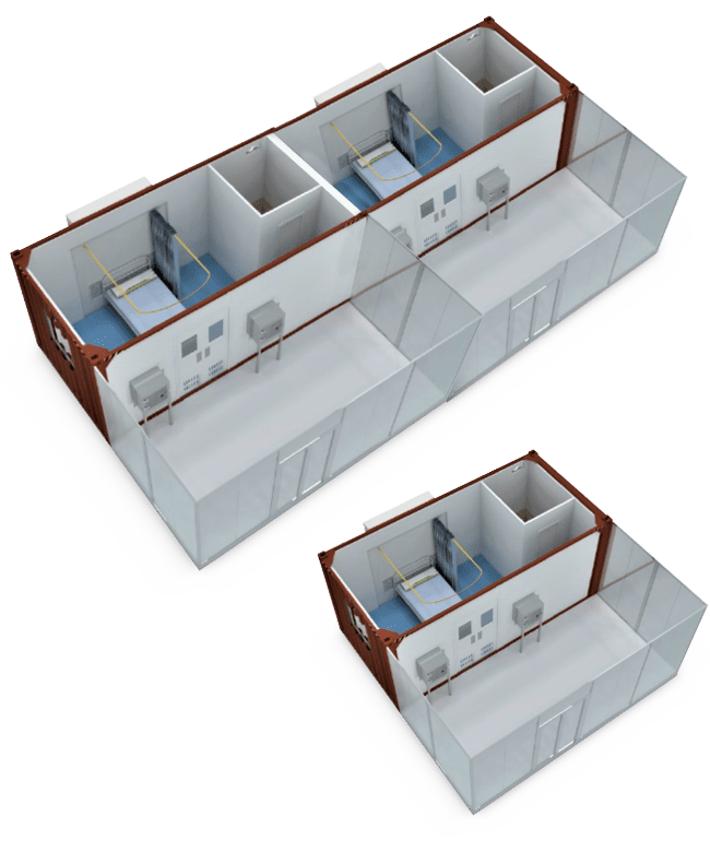 Isolation Containers