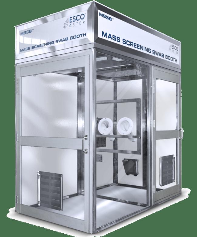 Mass Screening Swab Booth™