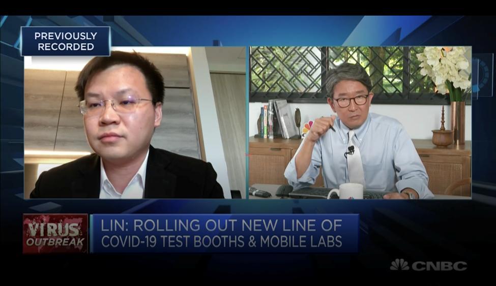 Esco Life Sciences Group CEO Xiangqian (XQ) Lin on CNBC