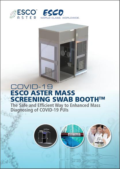 Mass Screening Swab Booth™ (MSSB™) brochure